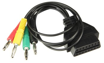 OBD breakout cable 4 colours