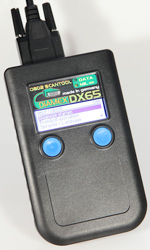 Diamex DX65 Multi-Norm Handheld Scanner