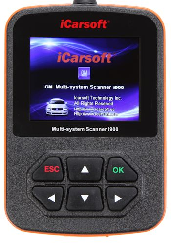 iCarsoft i900 GM Scanner