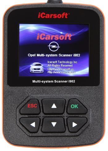 iCarsoft i902 Opel Scanner