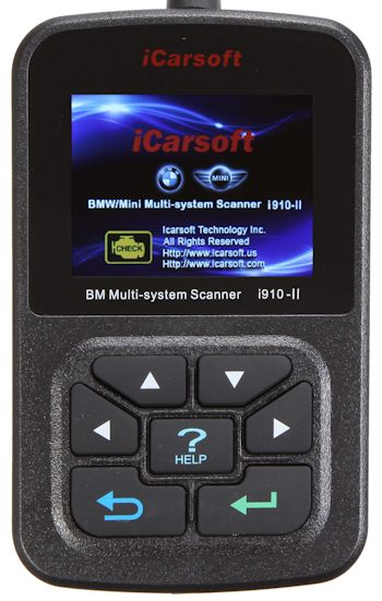 iCarsoft i910-II BMW/Mini Scanner + Servicereset