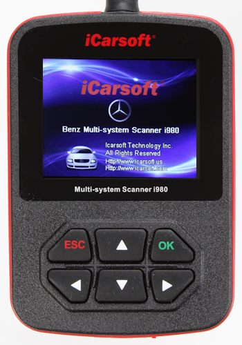 iCarsoft i980 Mercedes Benz Scanner
