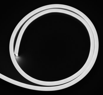 Cold white, LED Neonflex, 12 V, 1 cm cutting, per meter