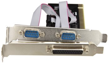 1x Parallel & 2x Serial - PCI-Express Card
